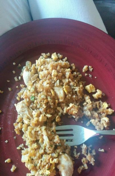 Cauliflower Chicken or Shrimp Fried Rice