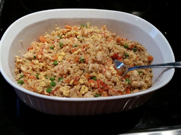 Cauliflower Fried Rice by T