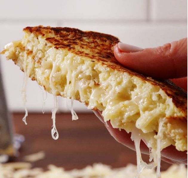 Cauliflower Grilled Cheese (Delish.com)