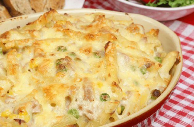 Cheesy Tuna Veggie Casserole