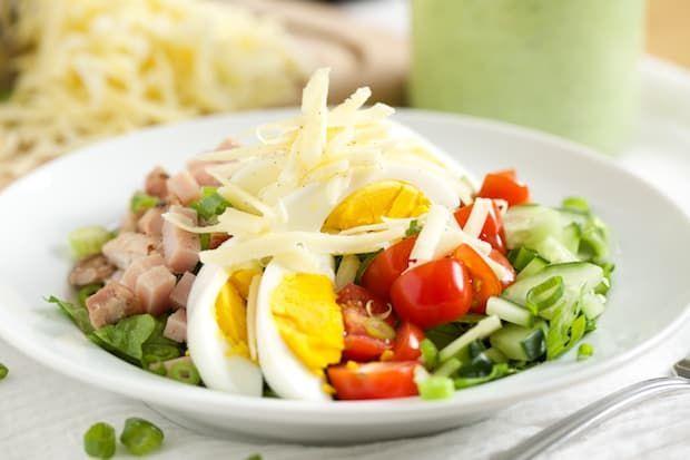 Easy Salads-Chef Salad (288 cal)