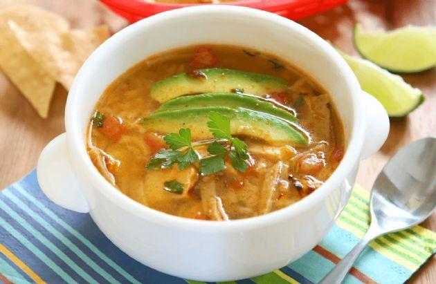 Chicken Tortilla Soup - No Beans