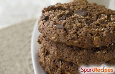 Chocolate Peanut Butter Breakfast Cookies