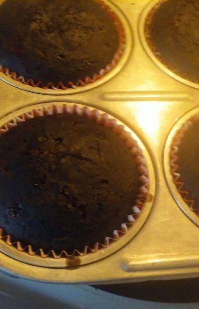 Chocolate Zuchinni Muffins