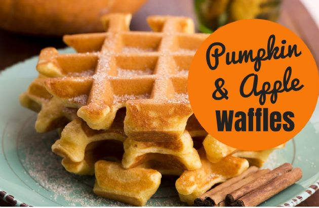 Coach Nicole's Pumpkin & Apple Waffles