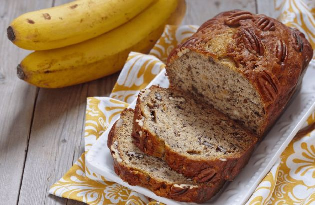 Coach Nicole's Whole-Wheat Banana Nut Bread