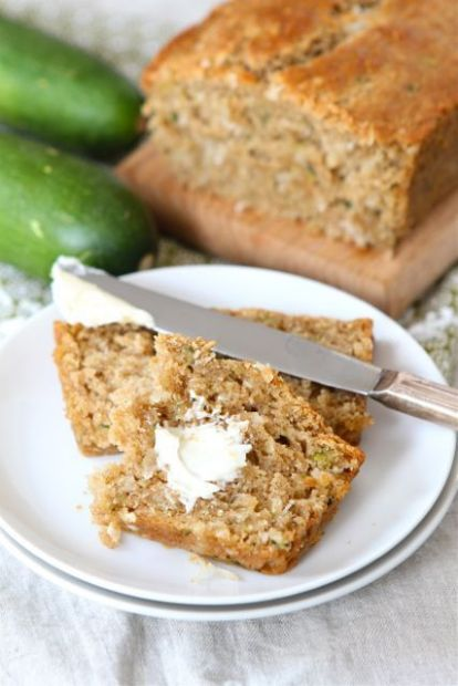 Coconut Zucchini Bread Recipe | SparkRecipes