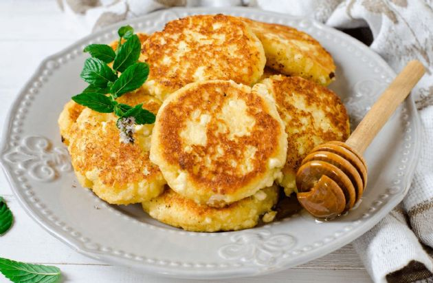 Cottage Cheese Pancakes Recipe SparkRecipes