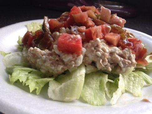 Cottage Cheese and Tuna Salad