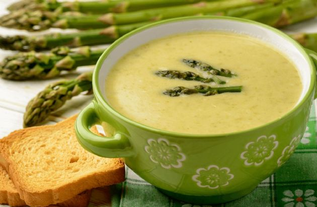 how to cook asparagus soup