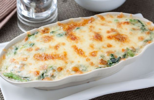 Creamy Chicken And Spinach Bake Recipe Sparkrecipes