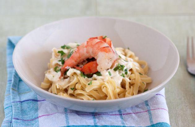 Creamy Shrimp Pasta