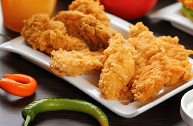 Crispy Faux-Fried Mexican Chicken