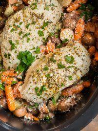 Crockpot Chicken & Potatoes