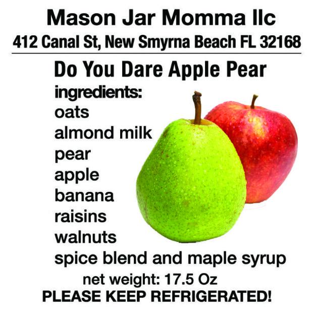 Do You Dare Apple Pear