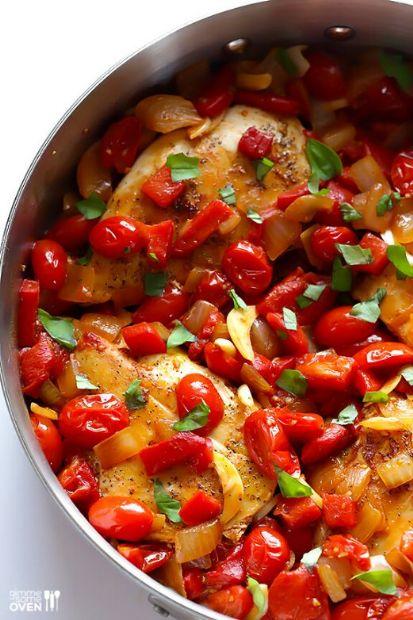 Easy Italian Chicken Skillet