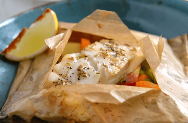 Easy Steamed Fish Packets