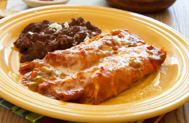 Easy Vegetable Enchiladas