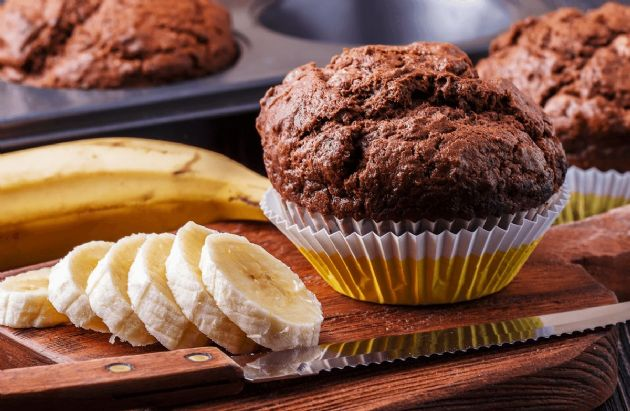 Egg-Free Chocolate Banana Muffins or Bread