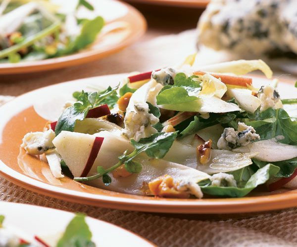 Endive, Apple & Walnut Salad