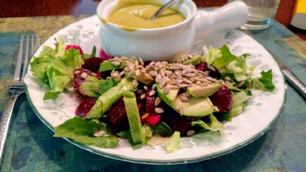 Escarole Beet Salad
