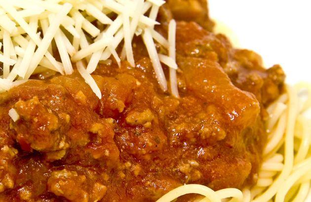 Extra Meaty Spaghetti Sauce