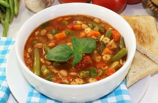 Garden Harvest Vegetable Soup Recipe SparkRecipes