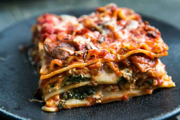 Garden Vegetable (and Meat Flavored) Lasagna