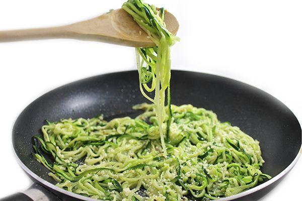 Garlic Parmesan Zoodles