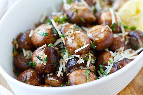 Garlic and Herb Mushrooms