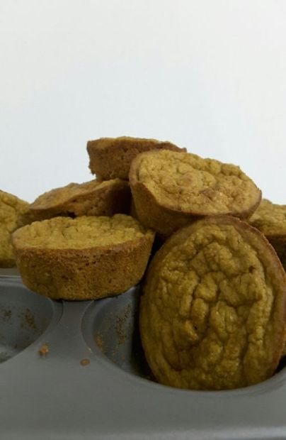 Gluten free Banana, carrot and Apple muffins