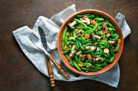 Green Beans, Carrots & Mushrooms
