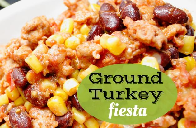 Ground Turkey Fiesta