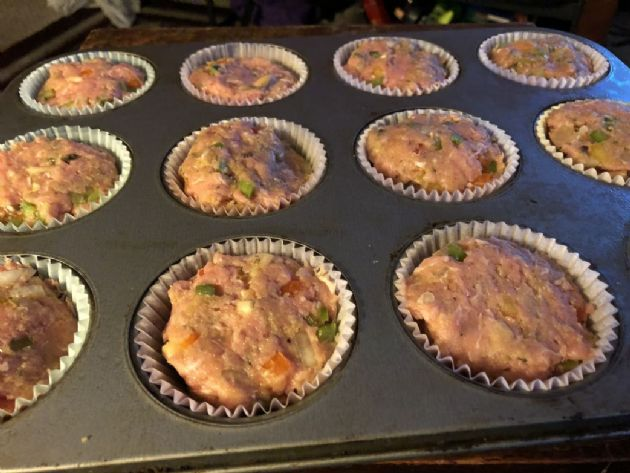 Ground Turkey Meatloaf Cups