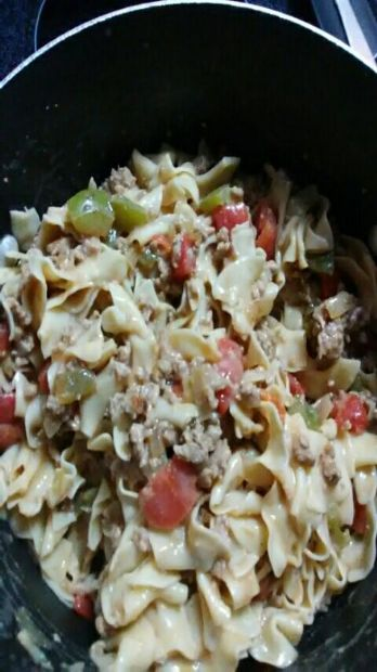 Ground Turkey Pasta