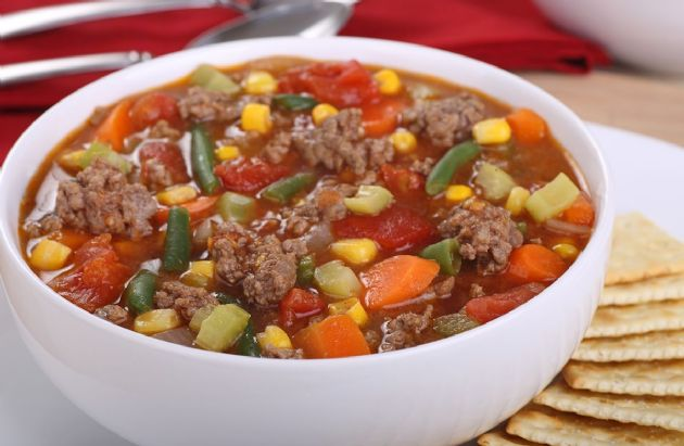 Hamburger Vegetable Soup