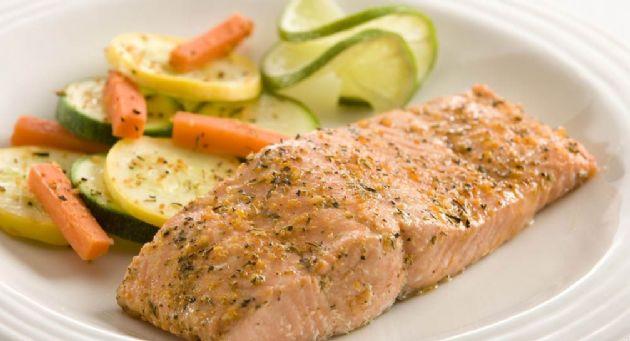 Healthier Baked Salmon