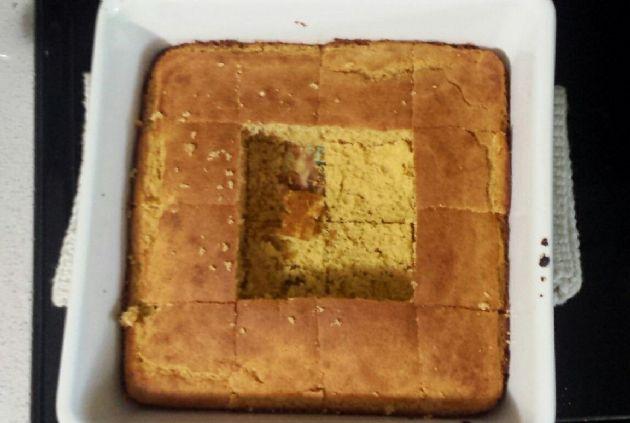 Healthy Cornbread w/whole wheat