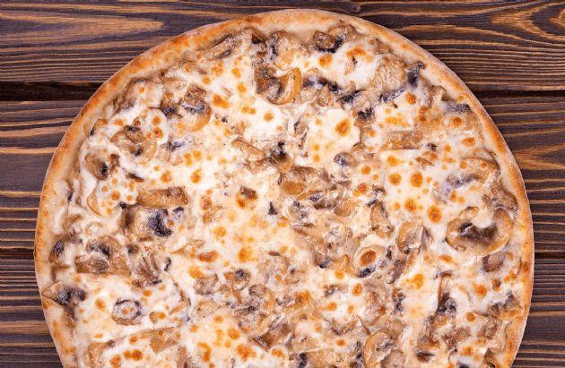 Hearty & Healthy Mushroom Lovers Pizza