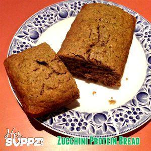 HerSUPPZ Zucchini Protein Bread