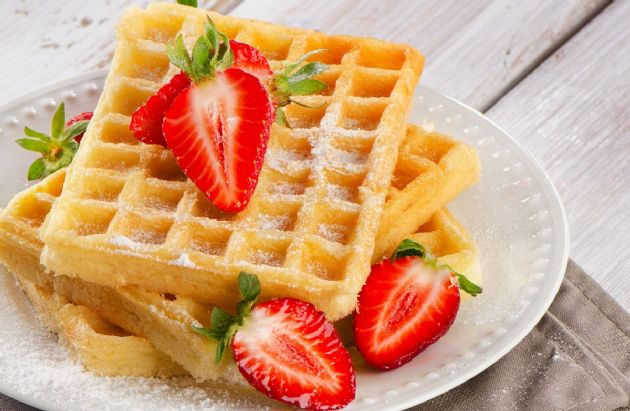 High-Protein, Low-Carb Waffles