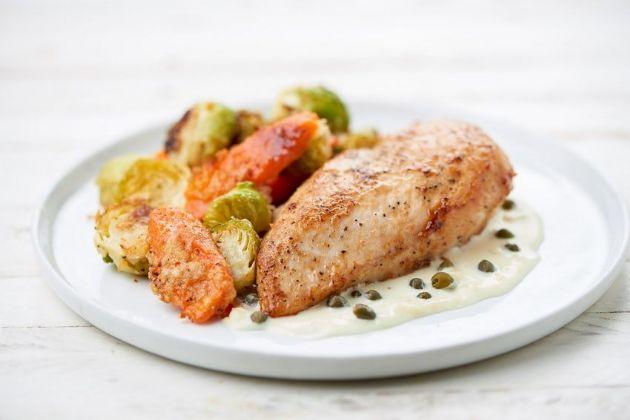 Home Chef - Creamy Chicken Picatta