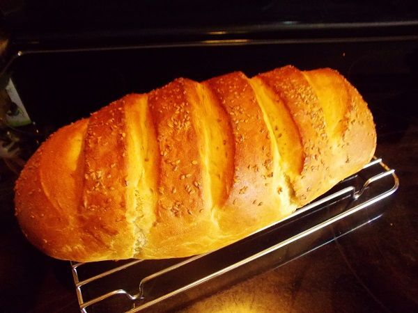 Homemade Italian Bread With Kitchen Aid Recipe
