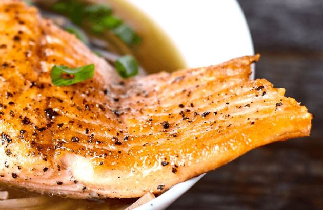 Honey, Soy and Ginger-Glazed Grilled Salmon