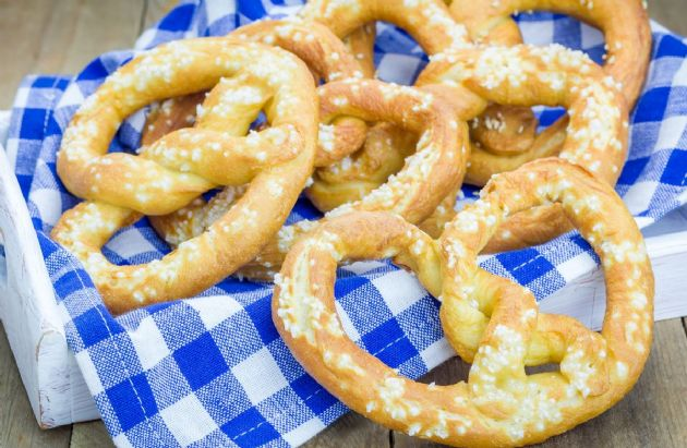 Honey-Whole Wheat Pretzels