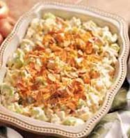 Hot Chicken Salad Casserole with Almonds