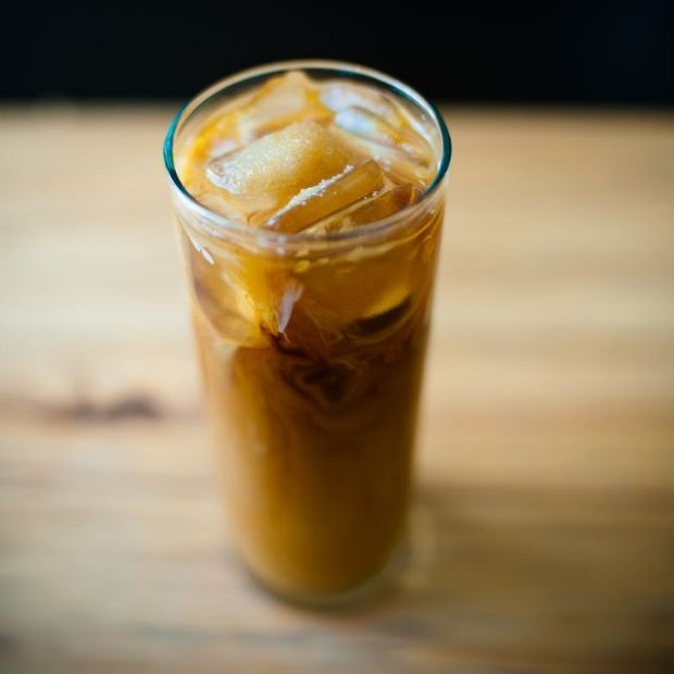 Iced Coffee with Soy Milk