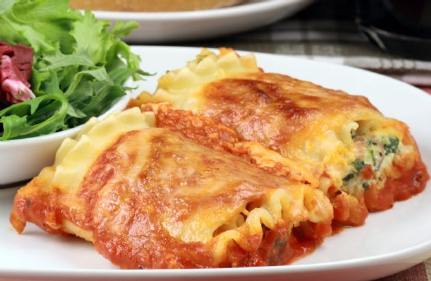 Italian Turkey Lasagna Rolls