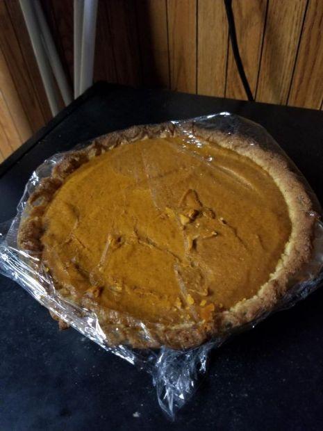KETO pumpkin pie  --low carb, sugar free, gluten free