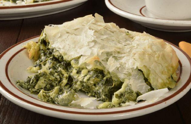 Kale, Spinach & Mushroom Pie